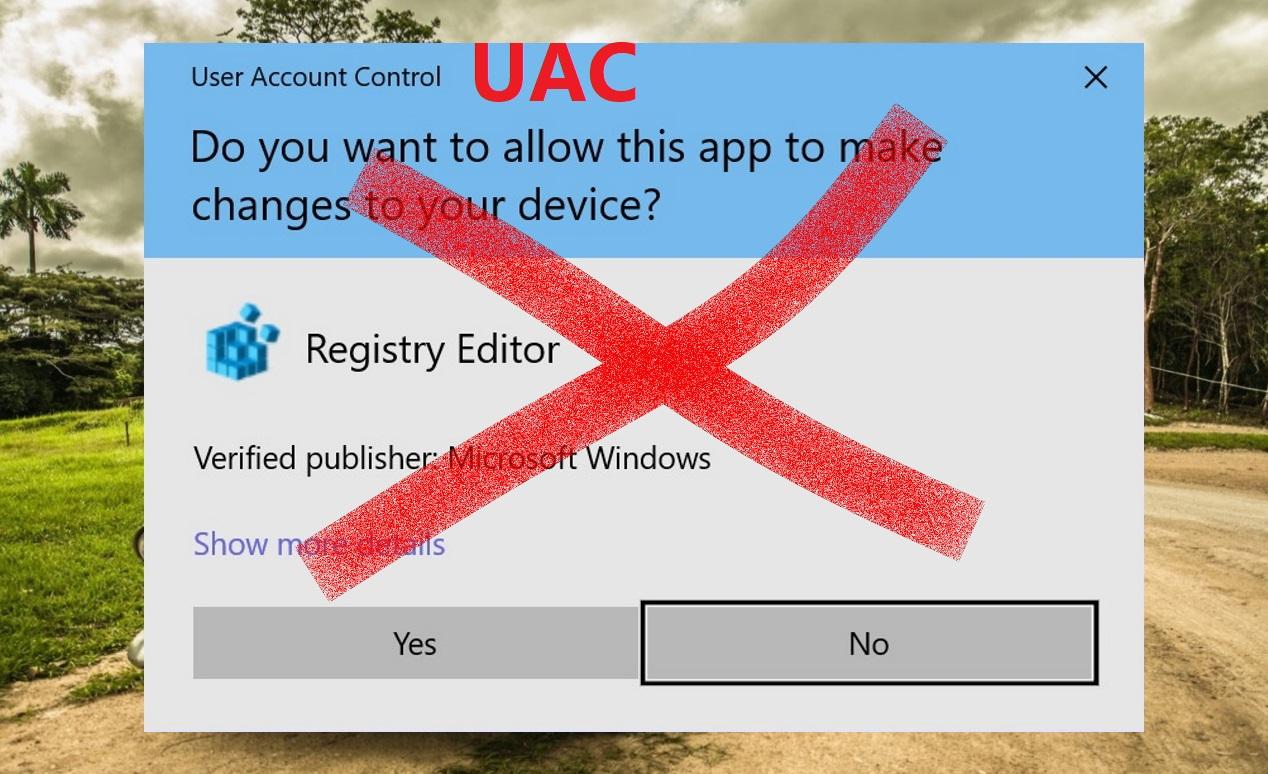 Cách tắt User Account Control (UAC) Windows 10, 8 và 7 thành công 100%