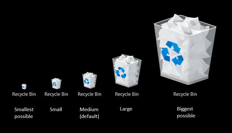 Cách thay đổi kích thước biểu tượng trong Windows 10