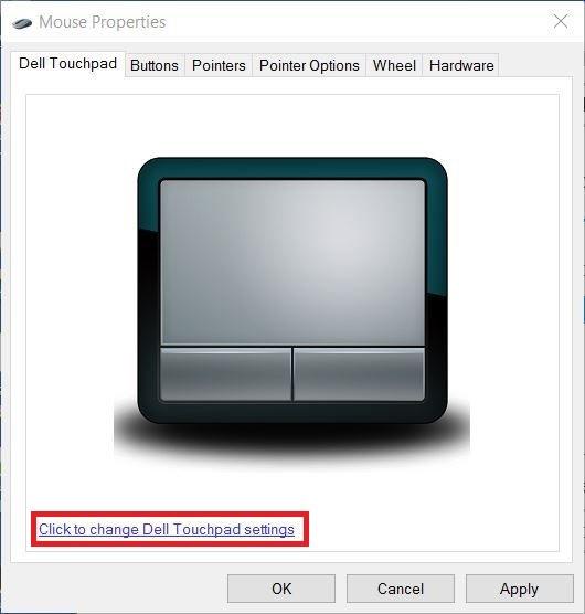 7 Cách sửa lỗi chuột cảm ứng laptop Dell không di chuyển được