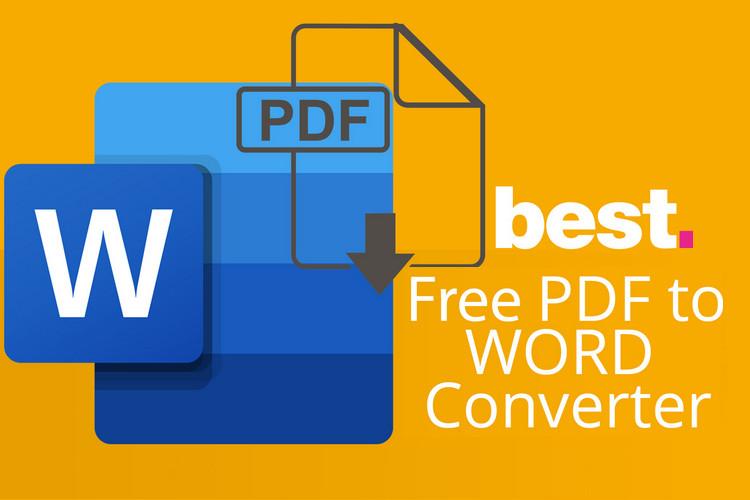4 công cụ chuyển đổi PDF sang Word đơn giản