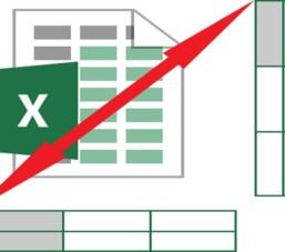 Cách chuyển đổi cột thành hàng trong Excel