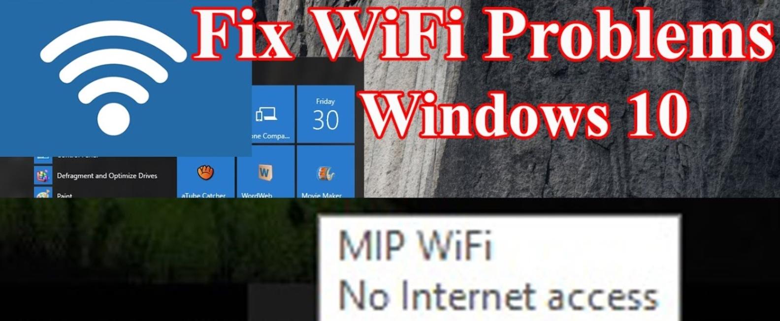Máy tính Windows 10 không tự động kết nối với mạng WiFi