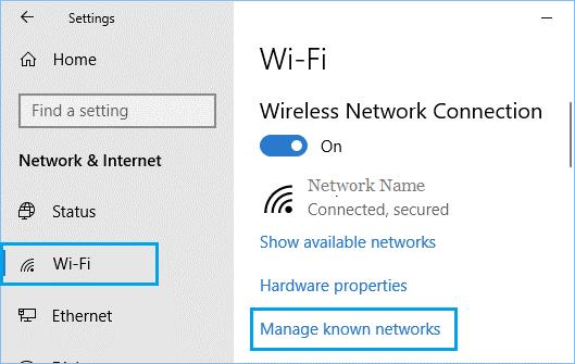 may tinh win10 khong tu dong ket noi wifi 3
