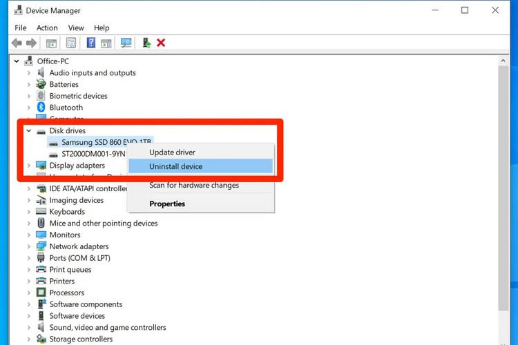 Cách cập nhật hoặc cài đặt lại driver trên Windows 10, 11