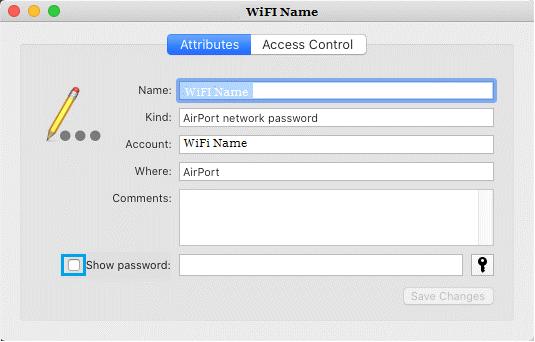 huong dan xem mat khau wifi tren mac 9