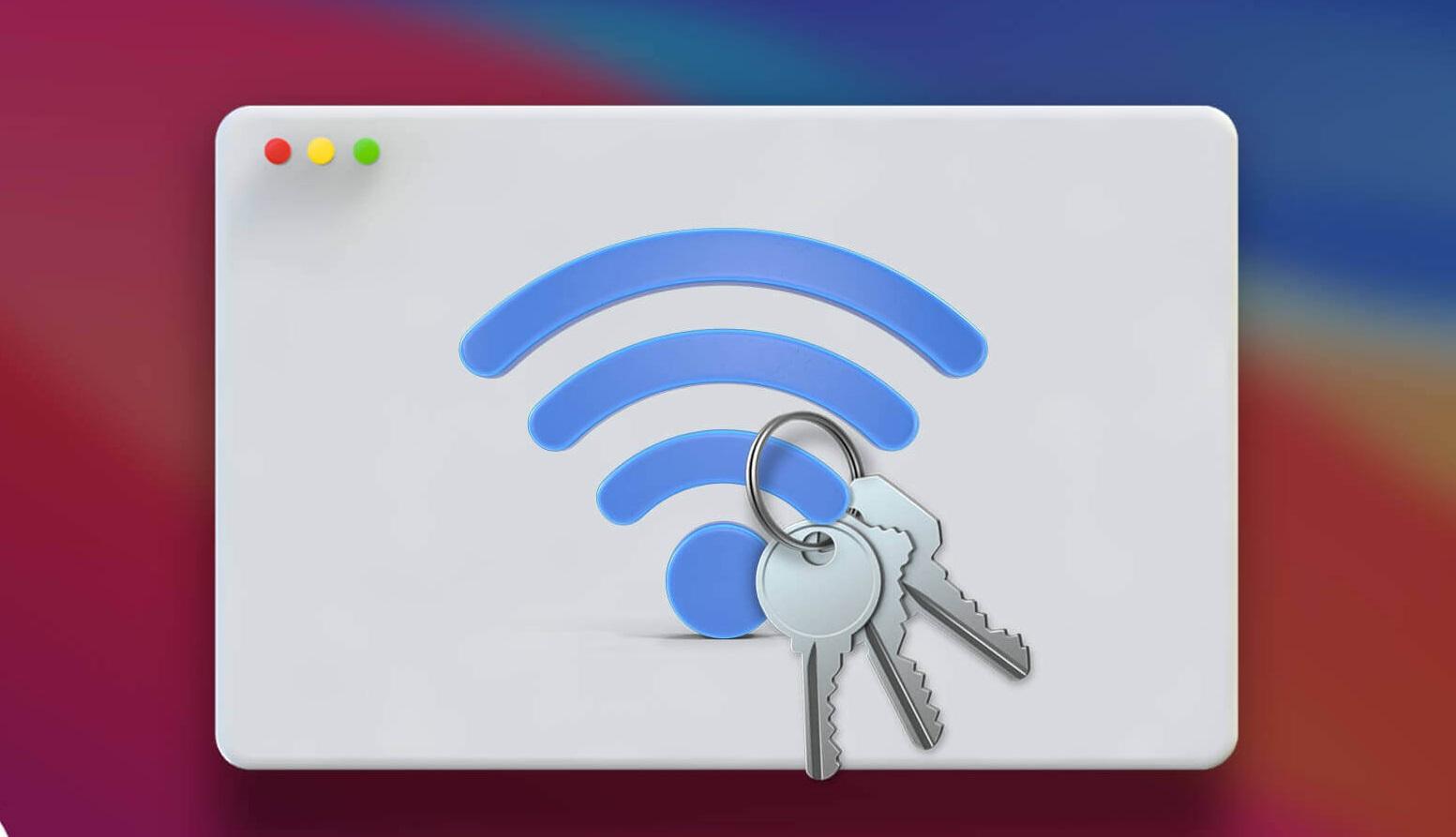 Hướng dẫn xem mật khẩu Wifi đã lưu trên máy Macbook