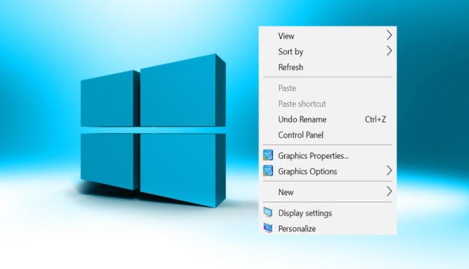 Cách thêm Control Panel vào Menu chuột phải của Windows