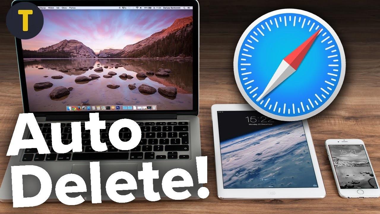 Cách tự động xóa lịch sử Safari trên MacBook