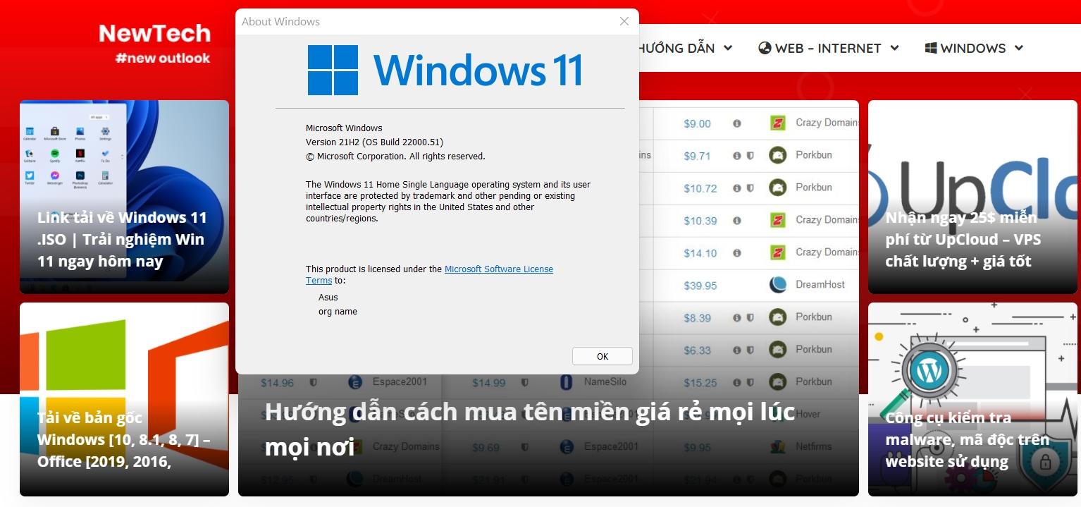 Cách nâng cấp lên Windows 11 Insider (Dev Channel)